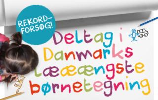 PrinterGuys inviterer til Danmarks længste børnetegning